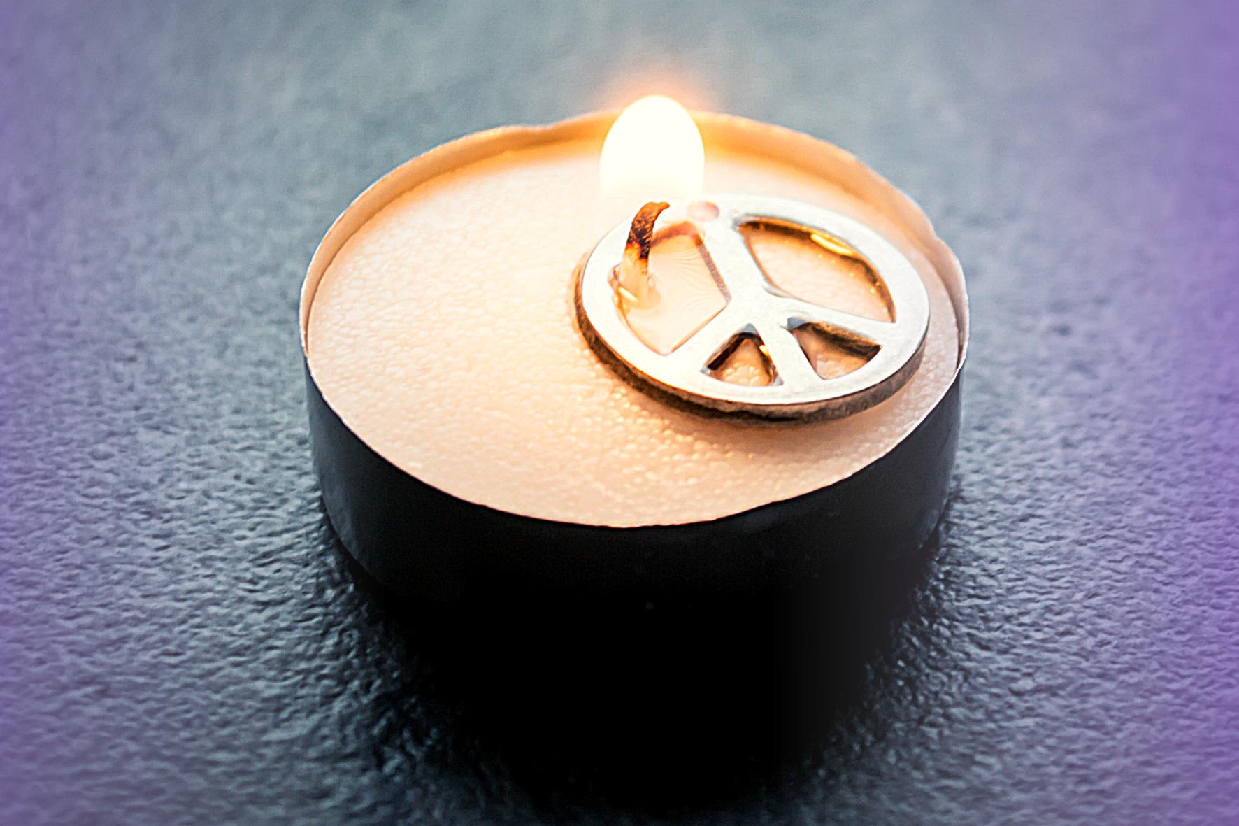 texto: A paz chega
